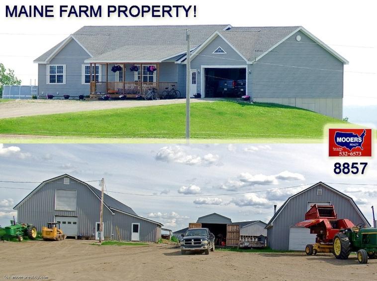 Farm For Sale, Land, 309 Westford Hill Road, Hodgdon ME
