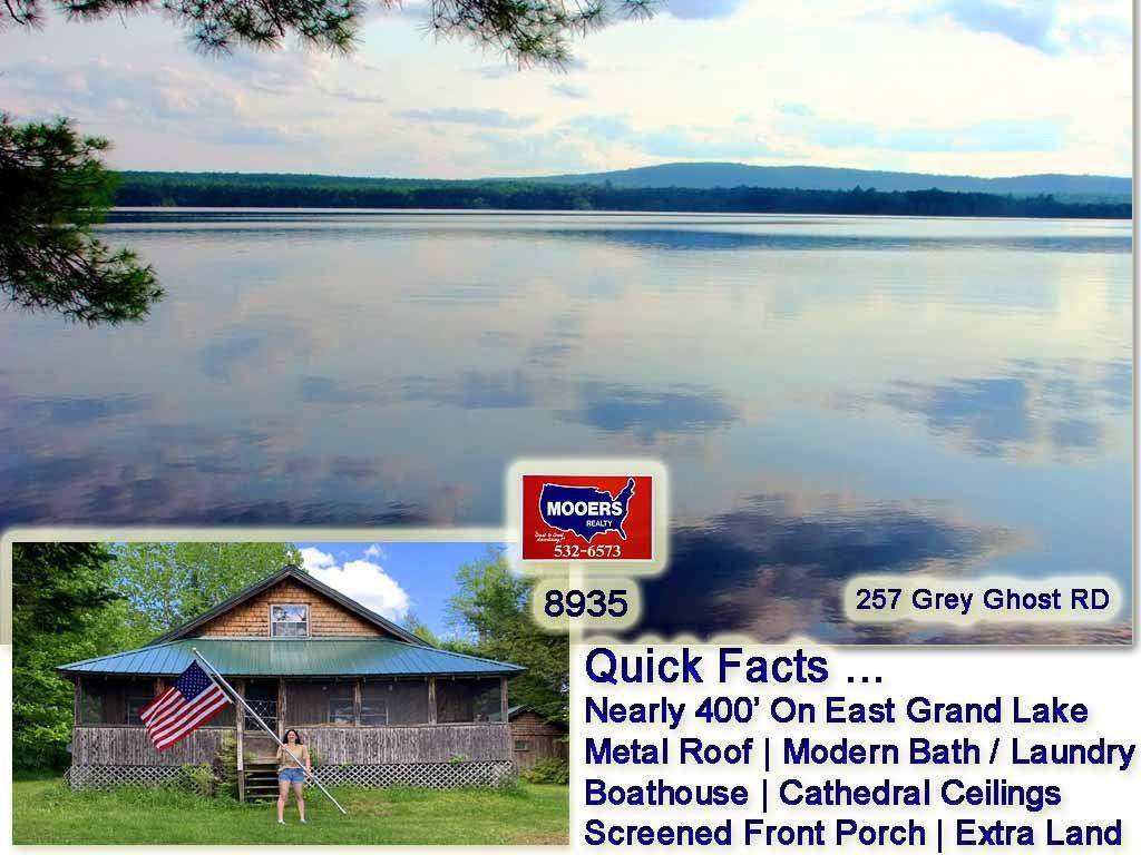 For Sale: 257 Grey Ghost Road, Forest City Twp, ME, Mooers Realty