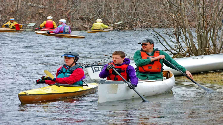canoe river racing