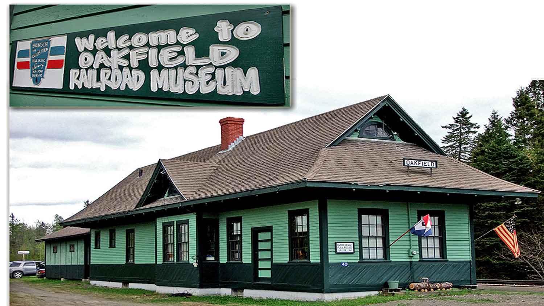 oakfield me railroad museum