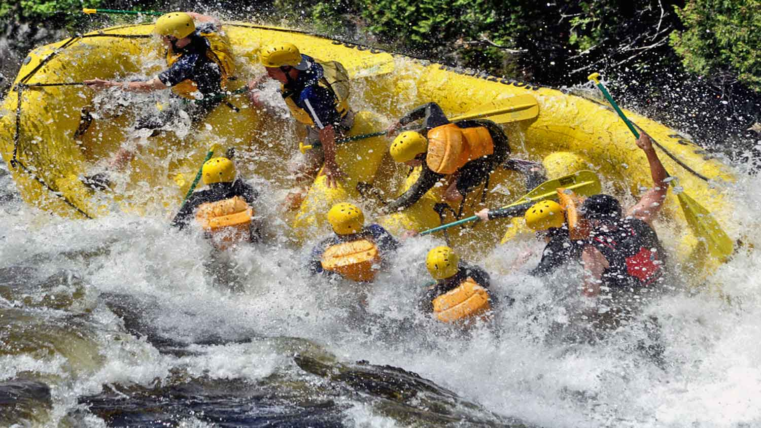 rafting rivers in maine