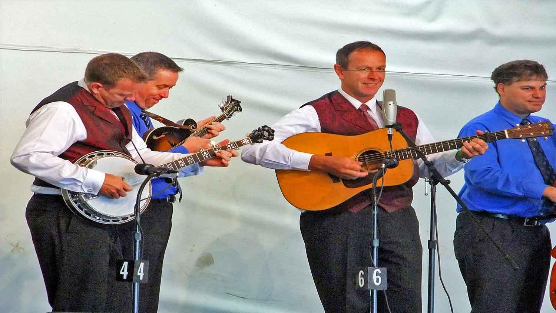 blue grass music in maine