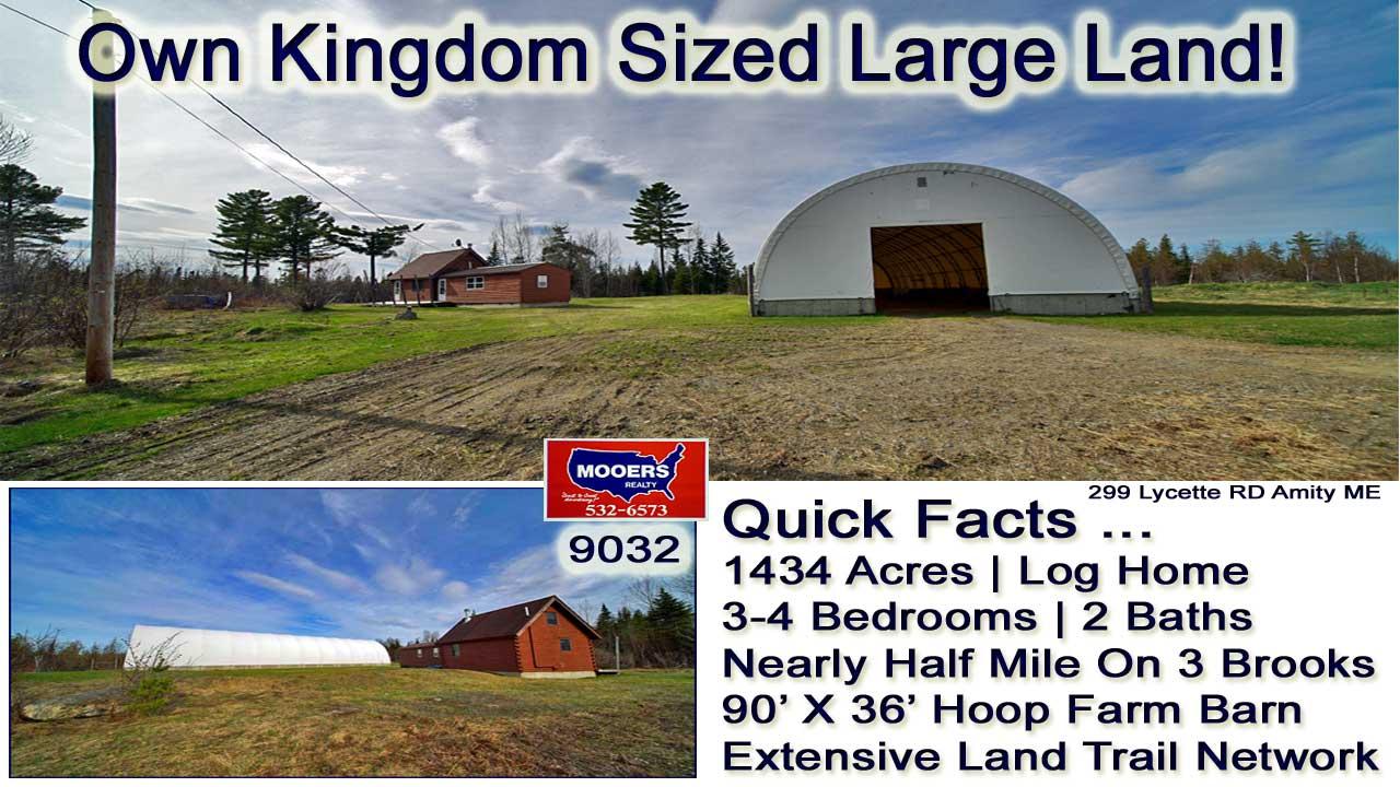 kingdom lot in maine land